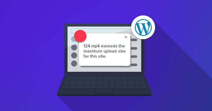 افزایش حداکثر اندازه آپلود فایل یا زمان اجرا در وردپرس